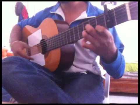 Abdallah Salem --- Etha Nawi Trouh - ( Guitar Tutorial )