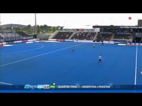 Argentina vs Pakistan hero hockey world league quarter 3