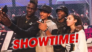 SHOWTIME WITH BALOTELLI, MHD & LISA FREESTYLE