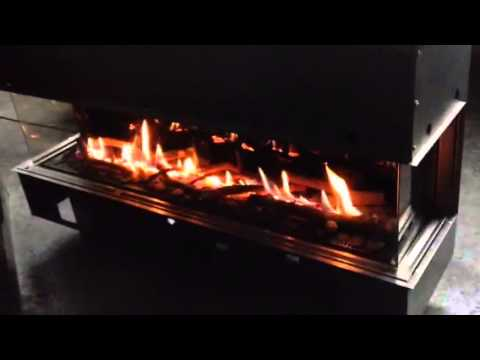 Balanced Flue Gas Fire 3 Sided High Efficiency Glass