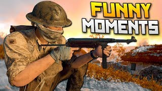 COD WW2 Funny Moments - The Worst Player & Getting Spawn Trapped!