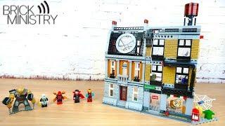 [Огляд] LEGO 76108 Super Heroes ● Вирішальний бій у Санктум Санкторум