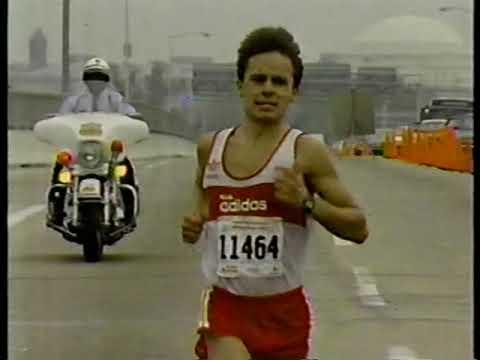 1987 Marine Corps Marathon - Jeff Scuffins Course Record