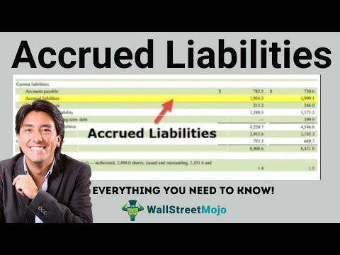 Accrued Liabilities   How to Record Accrued Liabilities?
