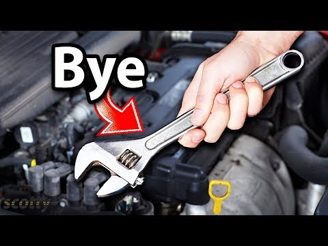 The End of DIY Car Repair, Why New Cars are So Hard to Work On