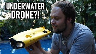Underwater DRONE?! CHASING Gladius Mini Unboxing + First Test   DansTube.TV