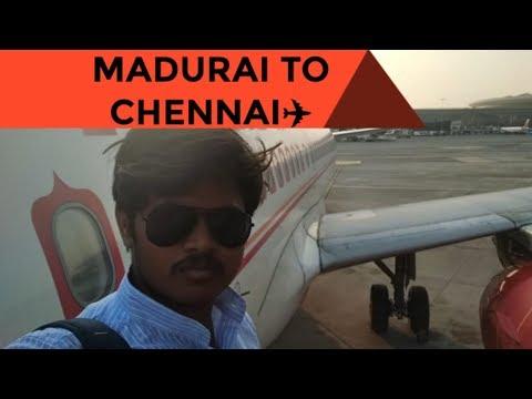 Madurai To Chennai Full Flight Experience | Economy Class