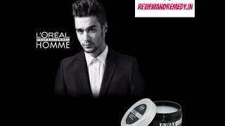 Loreal homme 2 hair wax review