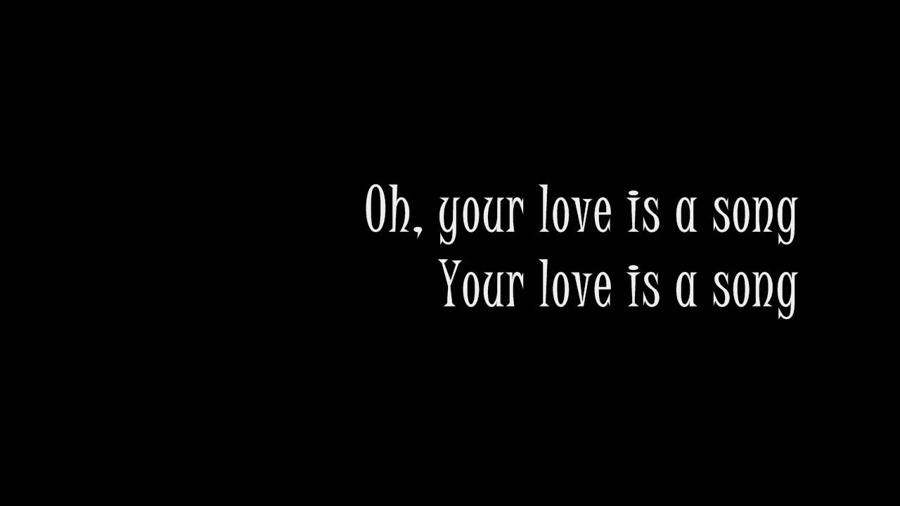 you love is a song lyrics