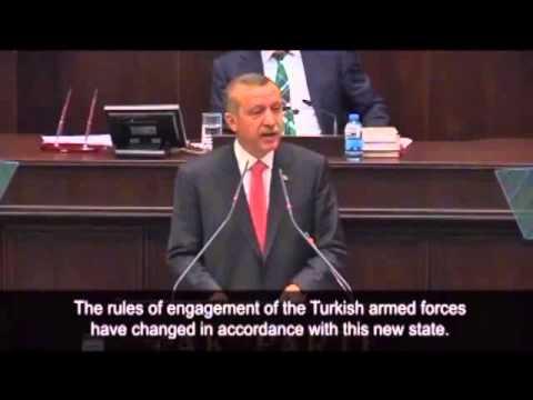 Turkish hypocrisy - Erdogan's line of defense
