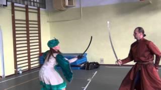 Pokaz sarmacki dla dzieci z Białorusi