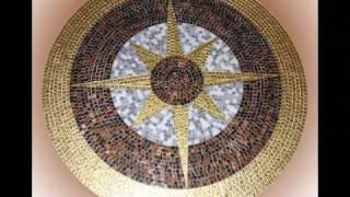 видео Панно из мозаики