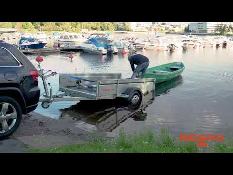 Respo Trailer - Boat Loading And Unloading