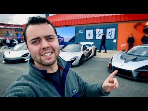 BUYING A NEW MCLAREN?!
