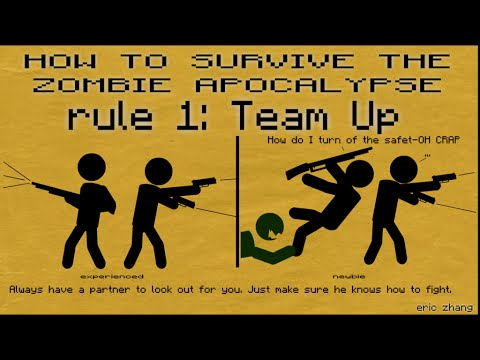 how to prepare yourself for the zombie apocalypse