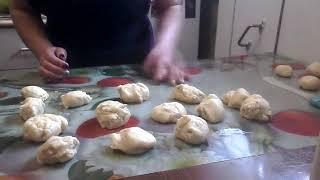 Постные пирожки с картошкой и жареным луком