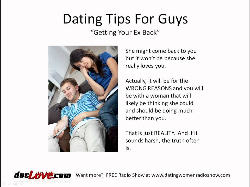 Dating an ex boyfriend tips