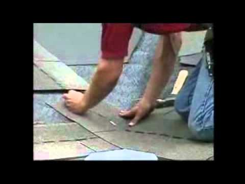 Quot Asphalt Shingles Roofing How To Install Valley Quot By