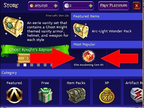 Arcane Legends: What To Buy With Platinum