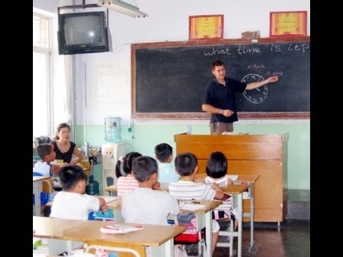 China Yantai Teaching English at Schools & College Volunteer