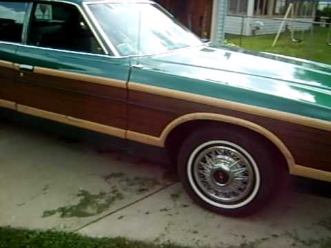 1978 And 1977 Ford Ltd Country Squire Wagon Youtube