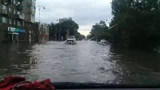 Потоп в Уссурийске.Что натворил ливень сегодня