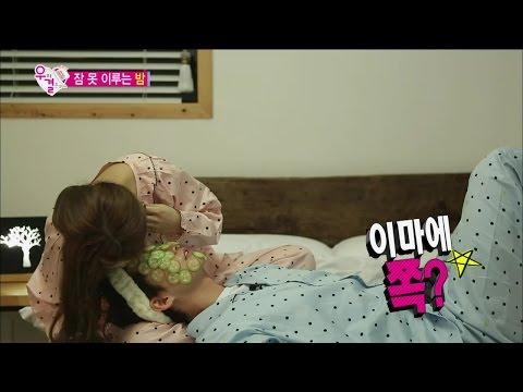 【TVPP】Song Jae Rim - Kiss As A Surprise, 송재림 - 이마에 쪽? 소은의 기습 이마 뽀뽀에 심쿵!한 재림 @ We Got Married