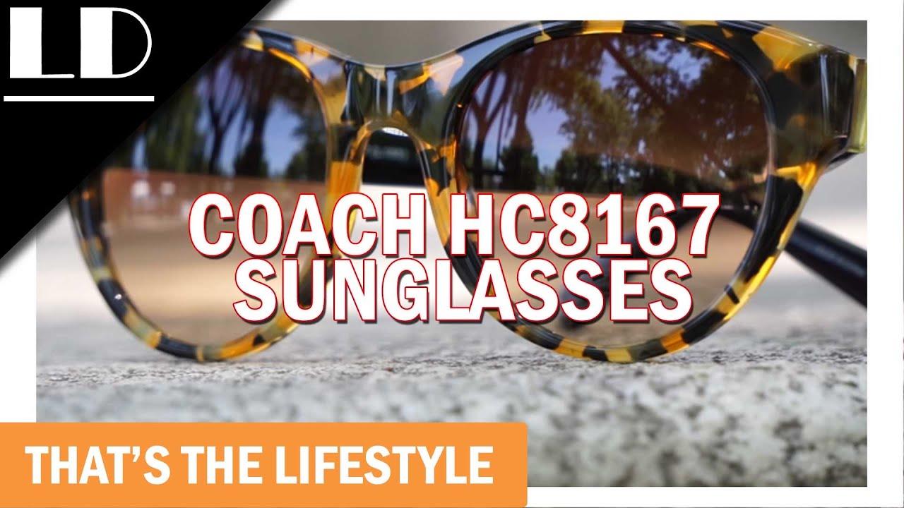 d197f3a96409 Coach HC8167 Sunglasses - YouTube