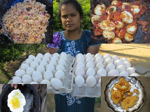 30 EGG 5 Different Varieties Cooking in My Village | VILLAGE FOOD