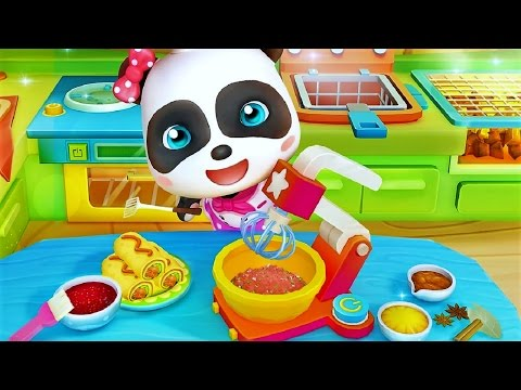 Little Panda Restaurant | Baby Panda Fun Cooking Game