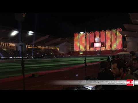 Cérémonie de remise de l'Hexagoal 2016 / 2017 au stade Louis II à Monaco