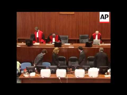 Three former rebel leaders appear in court