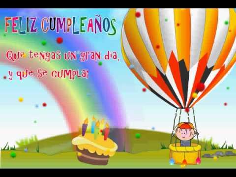 Que se cumplan tus deseos videos animados de feliz - Feliz cumpleanos infantil animado ...