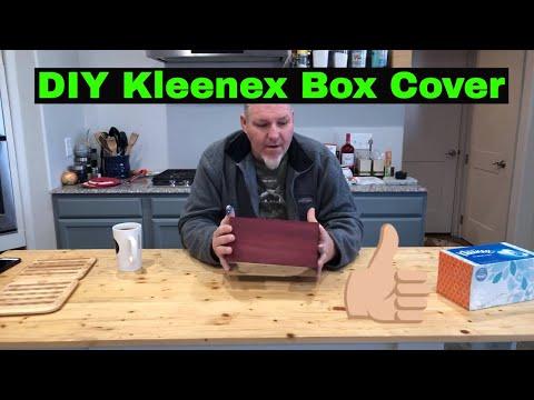 DIY Gift for Mom, #MakeSomething Inspired Kleenex Box Cover