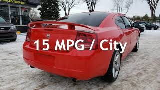 2008 Dodge Charger RT-340HP-ACCIDENT FREE-MUST SEE-LOW MONTHLY PAYMEN for sale in Edmonton, AB