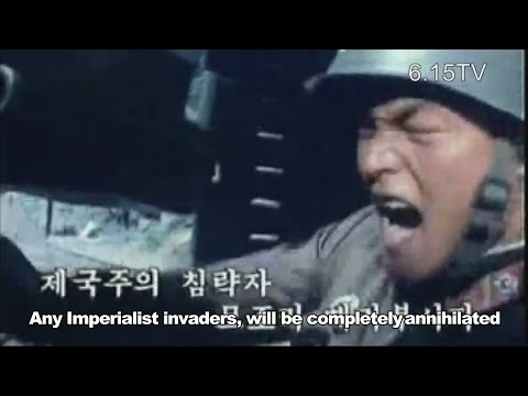 Song of the Korean People's Army [English] North Korea Music