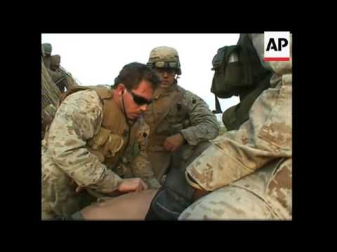 US Marine injured by IED near Fallujah