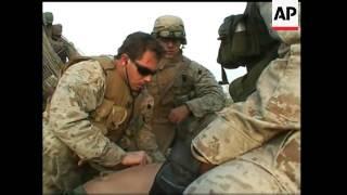 US Marine injured by IED near Fallujah