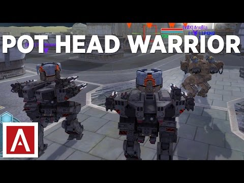 War Robots [WR] - Pot Head Warrior Gameplay