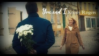 Video Kenny Rogers  & Bee Gees  - You and I (with lyric) download MP3, 3GP, MP4, WEBM, AVI, FLV Juli 2018
