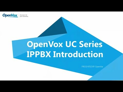 20180206-OpenVox UC Series IPPBX Introduction Conference