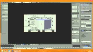 Blender 3D. Моделирование танка КВ-2. Урок 1.