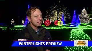 Sherman: Newfields` 2019 Winterlights display