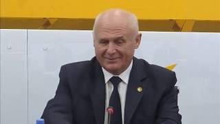 Пресс-конференция лидеров левоцентристских партий Беларуси, России и Молдовы