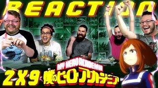 """My Hero Academia [English Dub] 2x9 REACTION!! """"Bakugo vs. Uraraka"""""""
