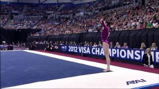 McKayla Maroney - Floor - 2012 Visa Championships - Sr. Women - Day 1