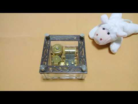 AC102  กล่องดนตรี I believe 18 Note Sankyo Music Box