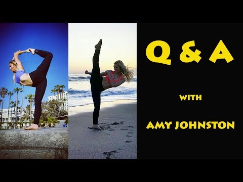 Q & A #1 with Amy Johnston