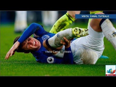 James McCarthy del Everton sufre espeluznante lesión en la Liga Premiere Video Rondón llora