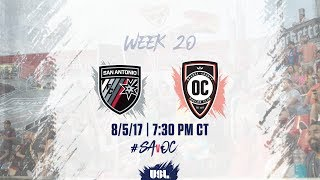 USL LIVE - San Antonio FC vs Orange County SC 8/5/17 thumbnail